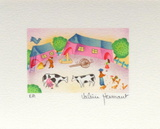 La Ferme Collectable Print by Valérie Hermant