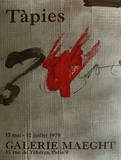 Galerie Maeght, 1979 Samlertryk af Antoni Tapies