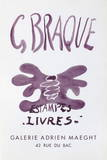 Expo Estampes Livres Collectable Print by Georges Braque