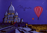 Montmartre Collectable Print by  Otso