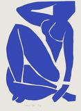 Verve - Nu bleu X Samlertryk af Henri Matisse