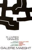 Cinq Livres Graves Collectable Print by Eduardo Chillida