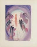 Divine Comedie, Paradis 24: La Joie Des Bienheureux Collectable Print by Salvador Dalí