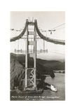 Building the Golden Gate Bridge Prints