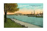 Hell Gate Bridge, East River Prints