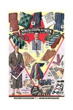Twenties Clothes Catalog Print