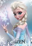 Frozen-Il regno di ghiaccio - Elsa poster in alluminio Poster