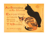 Two Cats, Steinlen Exhibit Poster