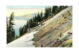 Steep Banks of Crater Lake Posters
