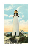 Old Port Isabel Lighthouse Poster