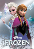 Frost - Anna & Elsa Folieplakat Plakater