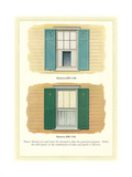 Windows and Shutters Posters