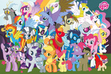 My Little Pony - Characters Posters