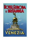 Hotel Europa E Britannia, Venice Posters