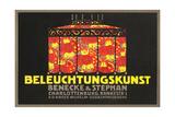 Ad for German Lamp Exklusivt gicléetryck
