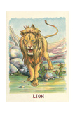 Roaring Lion Poster