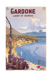 Travel Poster for Garda Lake Art