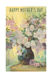 Happy Mother's Day, Flowers in Vase Posters