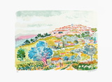 Saint Paul de Vence Collectable Print by Jean Claude Picot