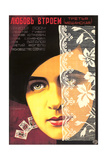 Russian Romance Film Poster Posters