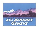 Les Berguies Geneve Poster Prints