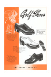 Golf Shoes Prints