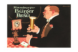Ad for Burger Beer Print