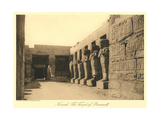 Temple of Ramses III, Karnak Prints
