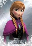 Frozen - Anna Foil Poster Print