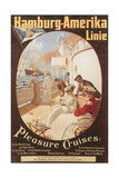 Hamburg America Line, Cruises Prints