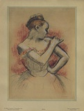 Jeune Danseuse Collectable Print by Edgar Degas