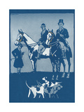 Riding to Hounds Poster Prints