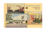 Colonial Court, Madisonville, Kentucky Posters