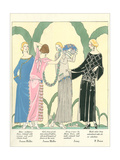 1920s Fashion Illustratiion Art