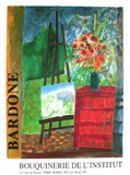 Exposition Bouquinerie De L'Institut Collectable Print by Guy Bardone