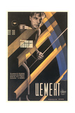 Russian Cement Film Poster Posters