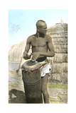 African Tribal Drummer Posters