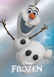 Frozen - Olaf Foil Poster Posters