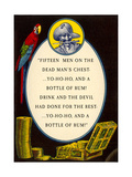 Fifteen Men on a Dead Man's Chest Posters