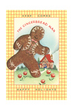 Here Comes Gingerbread Man Prints
