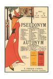 Pseudonym, Autonym Prints