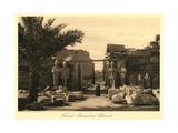 Tuthmosis III Memorial, Karnak Print