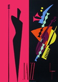 Jazz Collectable Print by  Lepas
