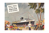 Weekly Cruises to Nassau Prints