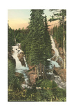 Twin Falls, Glacier National Park Posters