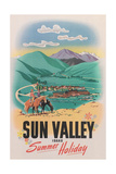 Travel Poster for Sun Valley Posters
