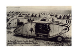 Early World War I Tanks Posters