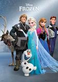 Frozen - Group Foil Poster Billeder