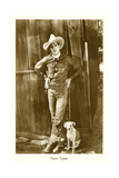 Cowboy and His Dog, Tom Tyler Posters