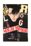 Russian Moulin Rouge Film Poster Posters